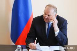 Николай Цуканов с рабочим визитом в городе Карабаше. Челябинская область , портрет, цуканов николай