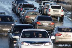 Галкинский мост. Курган, затор на дороге, машины, автомобильные пробки