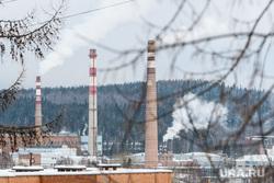 Виды Новоуральска, Свердловская область, дым из труб, уэхк, выбросы, уральский электрохимический комбинат, город новоуральск, экология