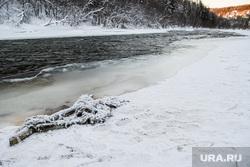 Водозабор города Ивделя. Свердловская область, Ивдель, река ивдель