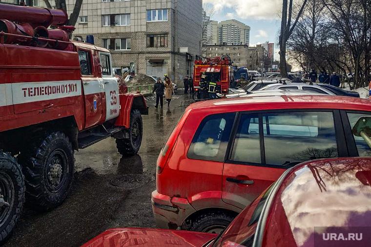 Хлопок бытового газа в жилом доме. Пермь
