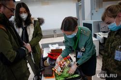 Ситуация в аэропорту Кольцово в связи с эпидемией коронавируса в Китае. Екатеринбург, аэропорт кольцово, аэропорт, китайцы, таможенный контроль, коронавирус, защитные маски