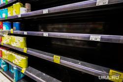 Ситуация в супермаркете Spar на фоне ажиотажа связанного с эпидемией коронавируса. Челябинск, продуктовые полки, пустые полки, дефицит, магазин, супермаркет, еда