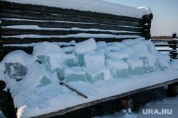 Заболотье Тюменская область., лед
