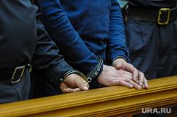 Оглашение приговора участникам бунта в исправительной колонии №6 строгого режима ГУ ФСИН. Челябинск, заключенный, зал суда, судебное заседание, наручники, полиция, суд, правоохранительные органы