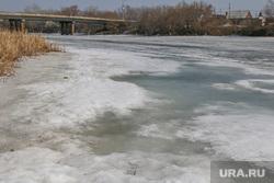 Фоторепортаж с мест подтопления во время паводка. Курган., паводок, река тобол, весна, лед