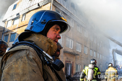 Пожар в промзоне на Троицком тракте. Челябинск, мчс, дым, пожар, чп, пожарные, чс