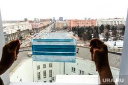 Клипарт на тему эпидемии. Челябинск, эпидемия, площадь революции, медицинская маска, коронавирус