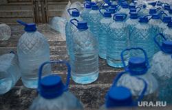 Губернатор Куйвашев в Сухом Логу. Место аварии на водоводе, штаб ЧС, бутыли, вода, водоснабжение
