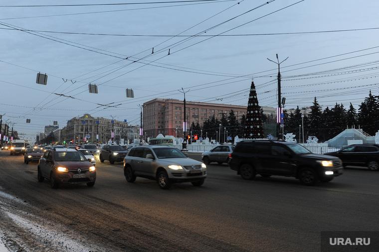 Виды города. Челябинск