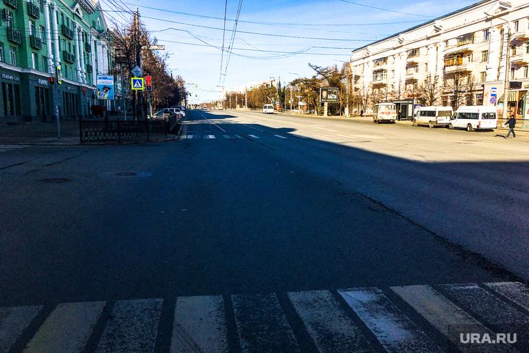 Улицы города. Площадь Революции. Челябинск