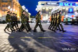 Репетиция парада Победы на Площади 1905 года. Екатеринбург, репетиция парада