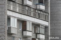Виды Красноярска, многоэтажка, жилье, здание
