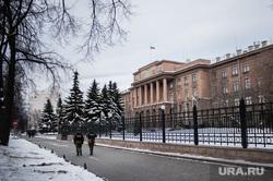 Оцепление у Штаба Центрального военного округа. Екатеринбург, штаб цво