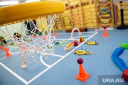 Торжественное открытие четвертого здания детского сада № 43 в микрорайоне Академический. Екатеринбург, детский сад, дошкольное учреждение, баскетбольная корзина, физкультура, спортивный зал, детский садик