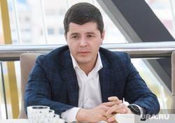 Встреча Дмитрия Артюхова с журналистами. Салехард, артюхов дмитрий