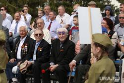 Военный парад посвященный Дню Победы. Курган, ветераны, ветераны вов