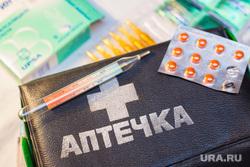 Клипарт по теме Медицина. Ханты-Мансийск, таблетки, аптечка, лекарства, болезнь, медицина