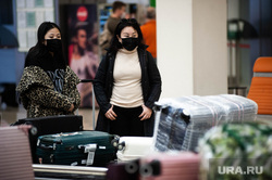 Ситуация в аэропорту Кольцово в связи с эпидемией коронавируса в Китае. Екатеринбург, аэропорт кольцово, аэропорт, китайцы, защитная маска, коронавирус