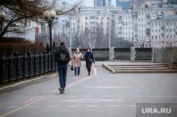 Екатеринбург во время режима самоизоляции по COVID-19, виды екатеринбурга, набережная екатеринбурга