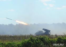 Чебаркульская танковая бригада. Челябинская область., система залпового огня град