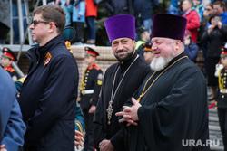 Парад 9 мая. Пермь, священнослужители, литовка андрей
