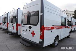 Парад новой техники на центральной площади. Курган, скорая помощь, скорая медицинская помощь, новые машины скорой помощи