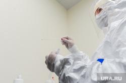 Проверка и забор анализов на коронавирус прилетевших пассажиров в челябинском аэропорту Игорь Курчатов. Челябинск, пробирка, защитный костюм, эпидемия, медики, врачи, карантин, медицинская маска, тест, коронавирус, санитарный кордон, вирусолог, бактериолог