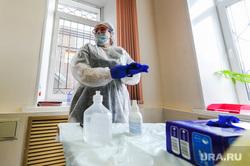 Тест на коронавирус у журналистов контактных с условно зараженным. Челябинск, медсестра, медик, эпидемия