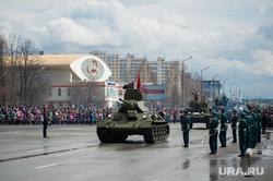 Военный парад, посвященный 73-й годовщине победы в Великой Отечественной войне. Свердловская область, Верхняя Пышма, военная техника, танк, верхняя пышма, день победы, парад победы, ледовая арена имени александра козицына, военный парад, парад военной техники