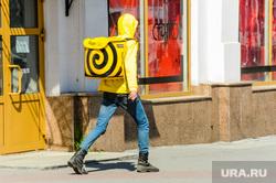 Пустой город. Обстановка в городе во время эпидемии коронавируса. Челябинск, доставка еды, яндекс еда