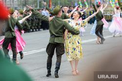 Празднование 9 мая. Челябинск, концерт, вальс, артисты