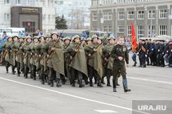Репетиция торжественного построения к Дню Победы. Челябинск, армия, марш, форма великой отечественной войны, репетиция