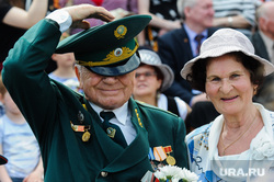 Празднование 9 мая. Челябинск, пенсионер, ветеран
