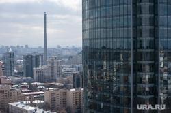 Екатеринбург со смотровой площадки БЦ