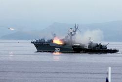Клипарт, официальный сайт министерства обороны РФ. Екатеринбург, атака, выстрел, военный корабль, ракеты