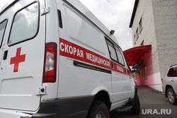 Визит врио губернатора Вадима Шумкова в Петуховский район. Курган, скорая помощь, машина скорой помощи