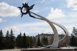 Трехгорный. Челябинская область, трехгорный, памятник икару
