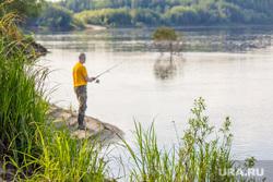 Клипарт. Нижневартовск, река, природа, рыбалка, водоем