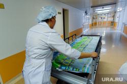 Челябинский федеральный центр сердечно-сосудистой хирургии. Челябинск, медсестра, больница, больничная койка, каталка больничная