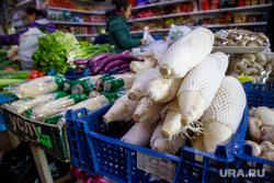Прогулка со студентом из Китая Максимом Цао (Цао Лян) в поисках секретов китайской кухни. Екатеринбург, овощи, продукты, магазин, китайские товары, корнеплод