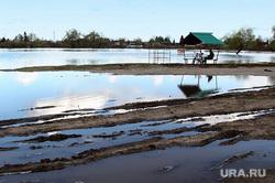 Наводнение. Архивное фото 2016 г. Курган, паводок, половодье, река тобол, паводок2016, наводнение