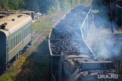 Клипарт. Екатеринбург, поезд, железнодорожный состав, уголь, грузоперевозки