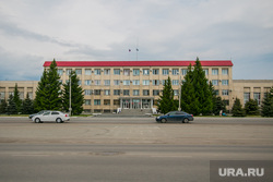 Виды города. Шадринск , мэрия, администрация города шадринска