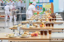 Школьная столовая в школе №136. Екатеринбург