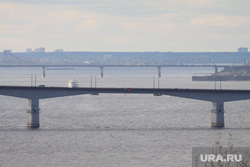 Осень жанровые фотографии Пермь, мост, река кама