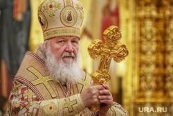 Визит патриарха Кирилла в Храм святой мученицы Татианы. Когалым , православный крест, патриарх кирилл