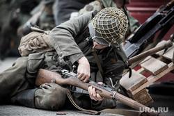 Реконструкторы. Екатеринбург, война, немецкие солдаты, перезарядка, вов, вторая мировая