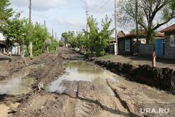 Проблемы дорожных работ Курган, плохая дорога