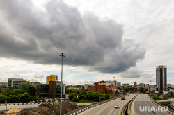 Открытие дорожной развязки по улице Братьев Кашириных. Челябинск, погода, небо, штормовое предупреждение, облако, магистраль, непогода, путепровод, дорога